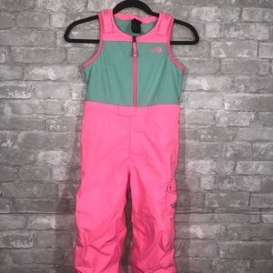 Girls The North face Pink Snow Pants Size 5
